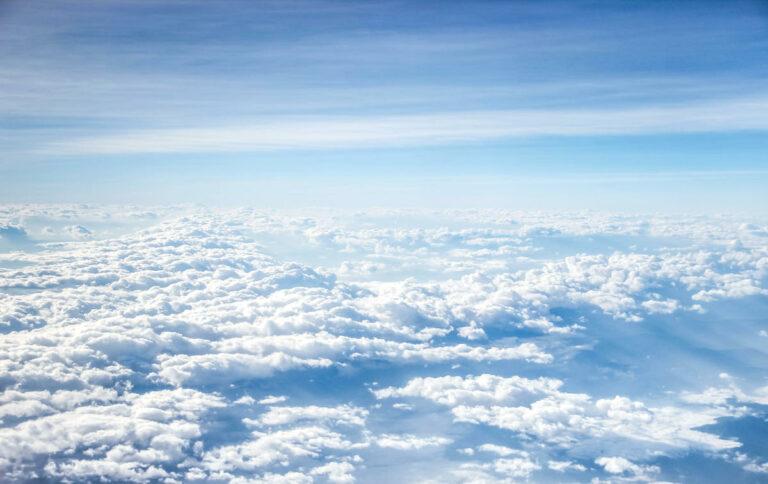 Atmosfera - Nuvole viste dallo spazio