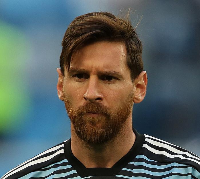 Lionel Messi nel 2018