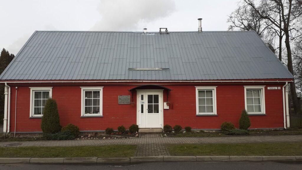 La casa a Telšiai dove abita Don Rino