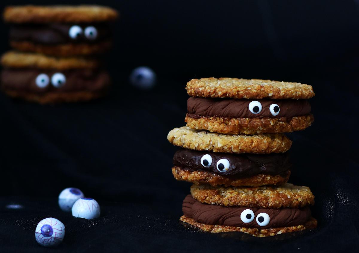 Biscotti con gli occhi