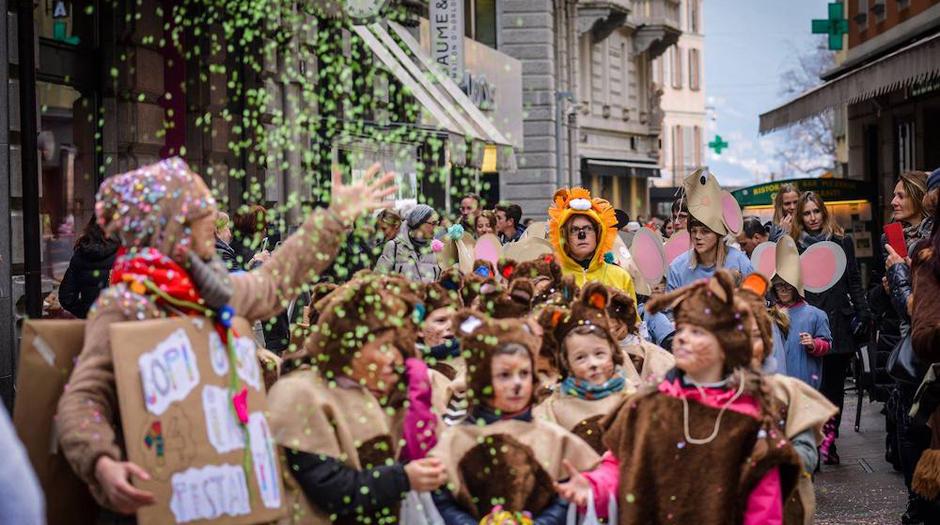 Carnevale dei bambini a Lugano