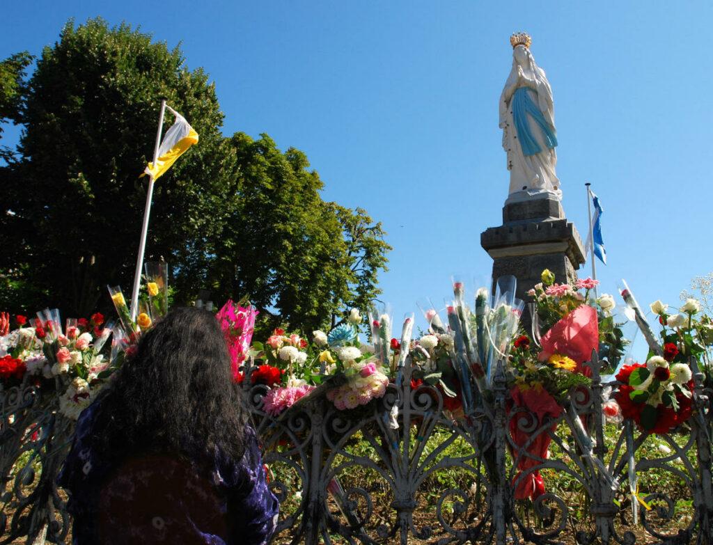 Pellegrinaggio a Lourdes 2008