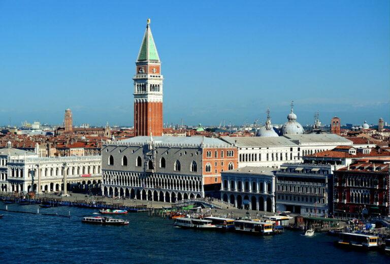 Venezia - Campanile di San Marco e Palazzo Ducale