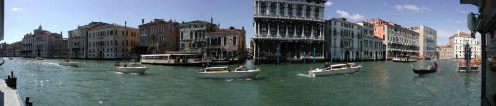 Venezia - Panorama del Canal Grande