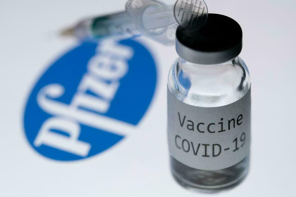 Flacone di vaccino anti-covid 19 Pfizer