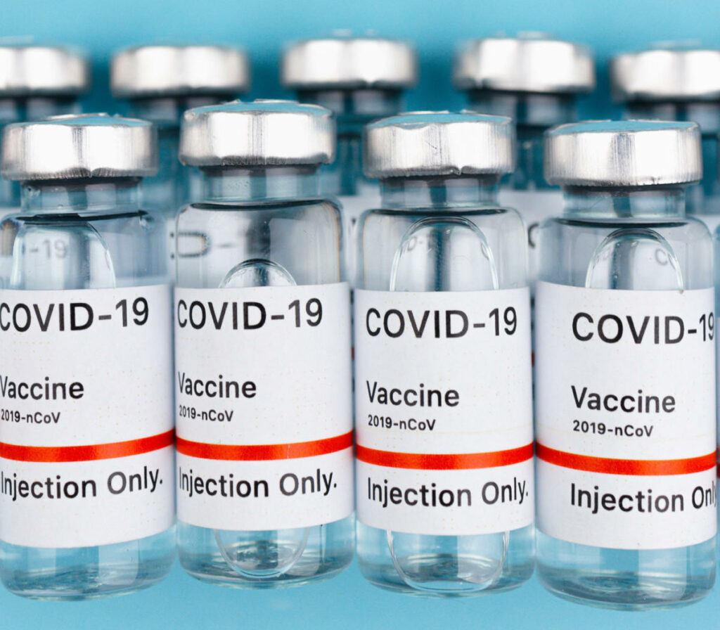 Flaconi di vaccini