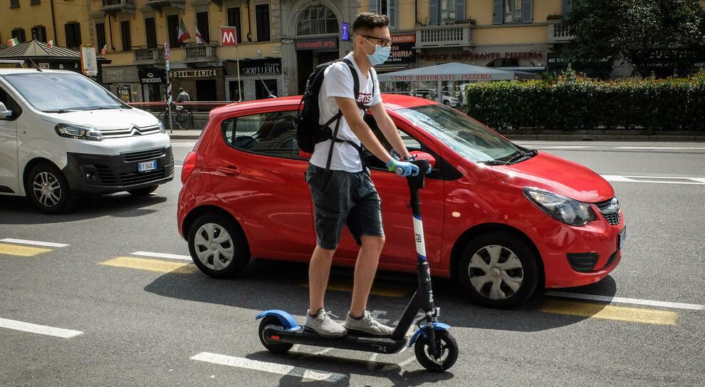 Monopattino elettrico a Milano