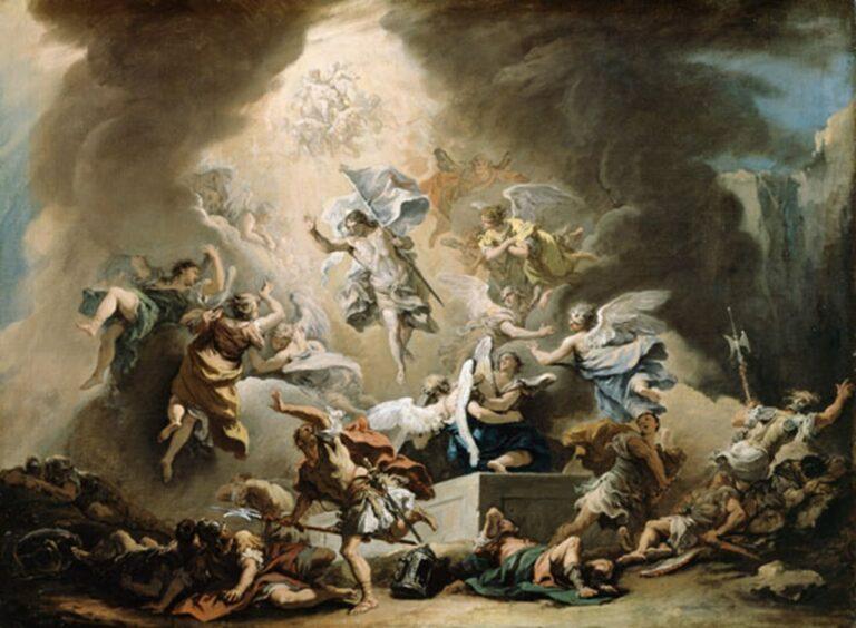 """Sebastiano Ricci, """"La Resurrezione"""", 1715, olio su tela"""